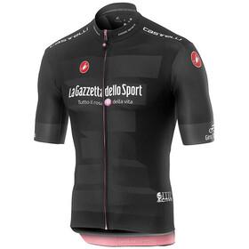 Castelli Giro d'Italia #102 Squadra Miehet Pyöräilypaita lyhythihainen , musta